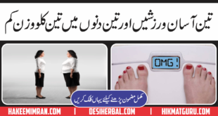 How To Lose Weight ( Wazan Kam Karna) With Exercise In Urdu