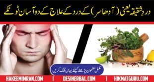Home Remedy for Migraine Dard Shaqeeqa ka Ilaj (2)