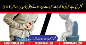 Qabz ki Alamaat, Qabz ki Waja or Ilaj Constipation Causes & Treatment (8)