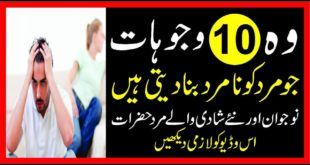 Top10 Causes Of Male Sexual Weakness|Namrdi Ka 10 Wajoohat