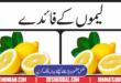 Benifits Of Lemon ( Lemoun K Faidy) In Urdu