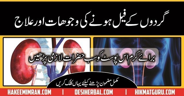 Gurdy Kay Fail Hone Ke Asbab Alamat Kidney Failure Causes Symptoms And Treatment In Urdu Desi Herbal