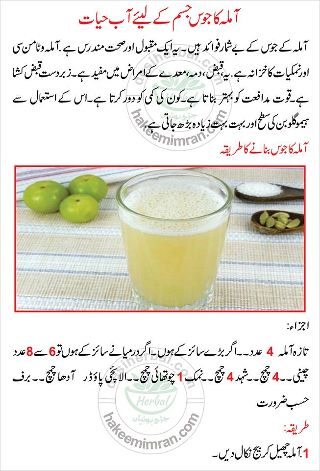 Amla Kay Juice Kay Faiday Benefits of Amla Juice