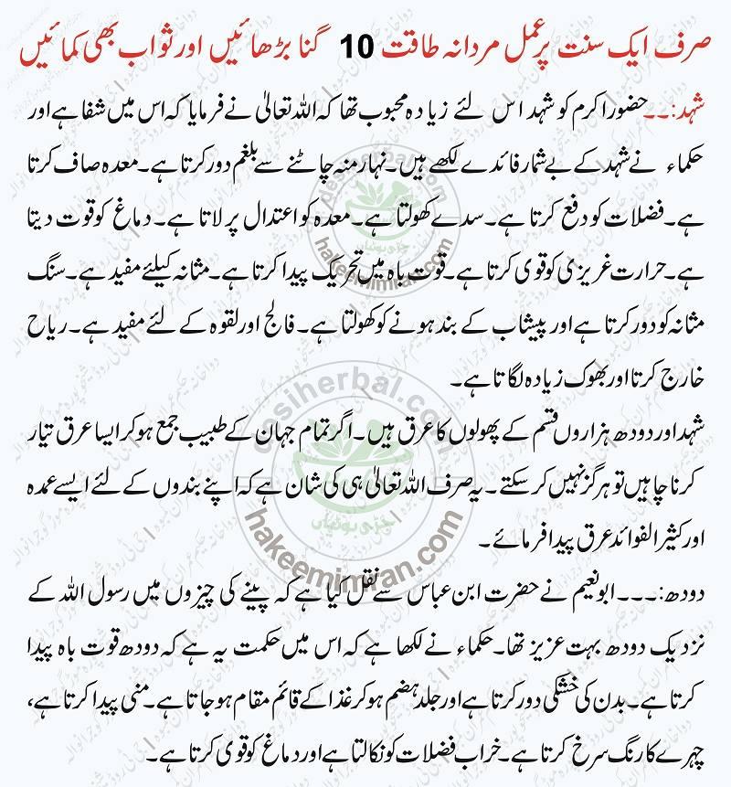 Mardana Kamzori Erectile Dysfunction Ka Tibbe Nabvi Ilaj in Urdu