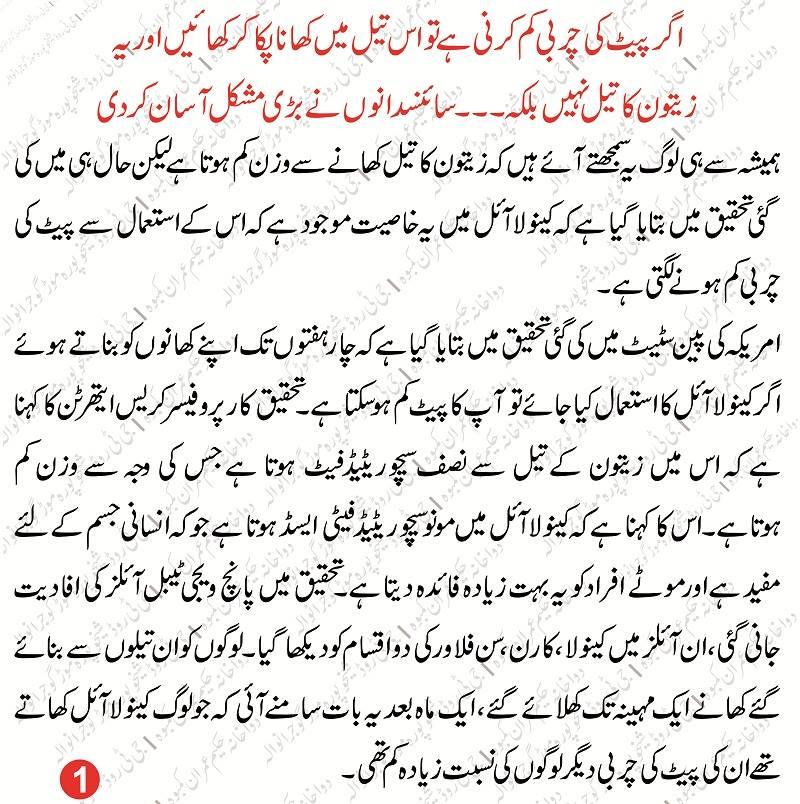 Pait Kam Karne ke Totkay in Urdu – Pait Chota Karnay Ka Desi Tarika
