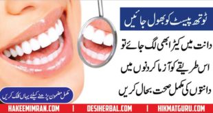 Teeth Care Tips Danton Ki Hifazat By Hakeem Imran Kmaboh