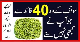Saunf Ke Fayde (Benefits of Fennel Seeds) سونف کے فائدے